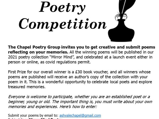 Poetry Competition - Mirror Mind