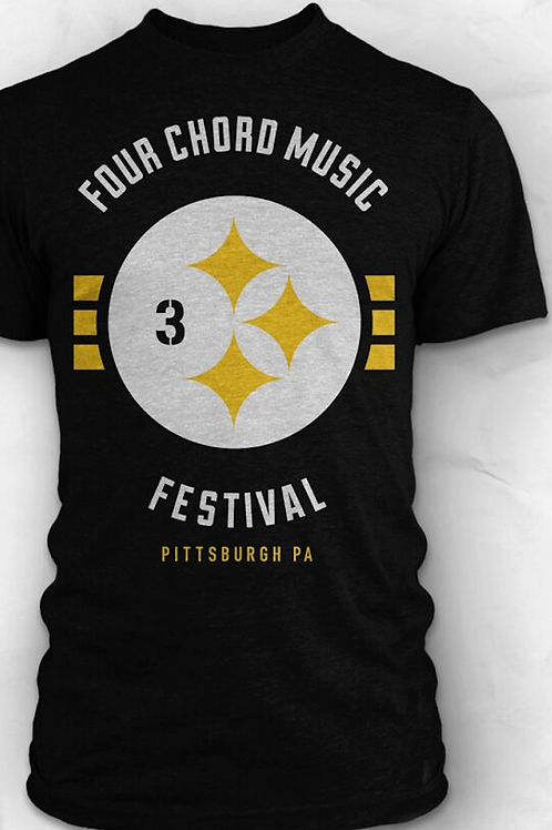 Four Chord Music Fest 3 - Steeler Shirt