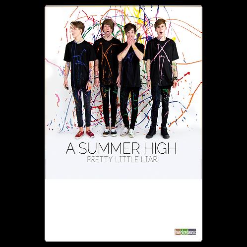 """A Summer High: """"Pretty Little Liar"""" Poster"""