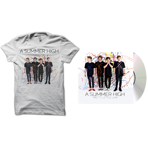 A Summer High: CD + Shirt + Poster Bundle