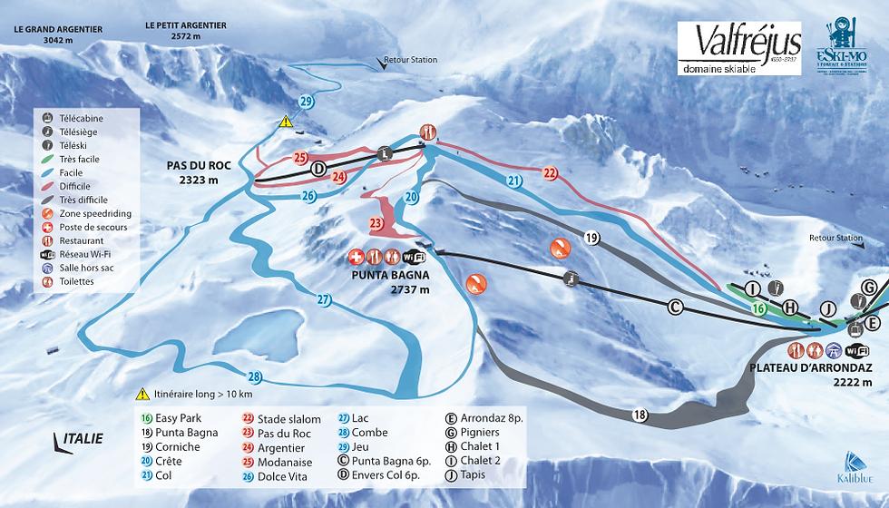 Ecole de ski Internationale de valfrejus,Cours collectifs de 8 personnes maximum par groupes,accompagnement des enfants au jardin d'enfant et point de rdv