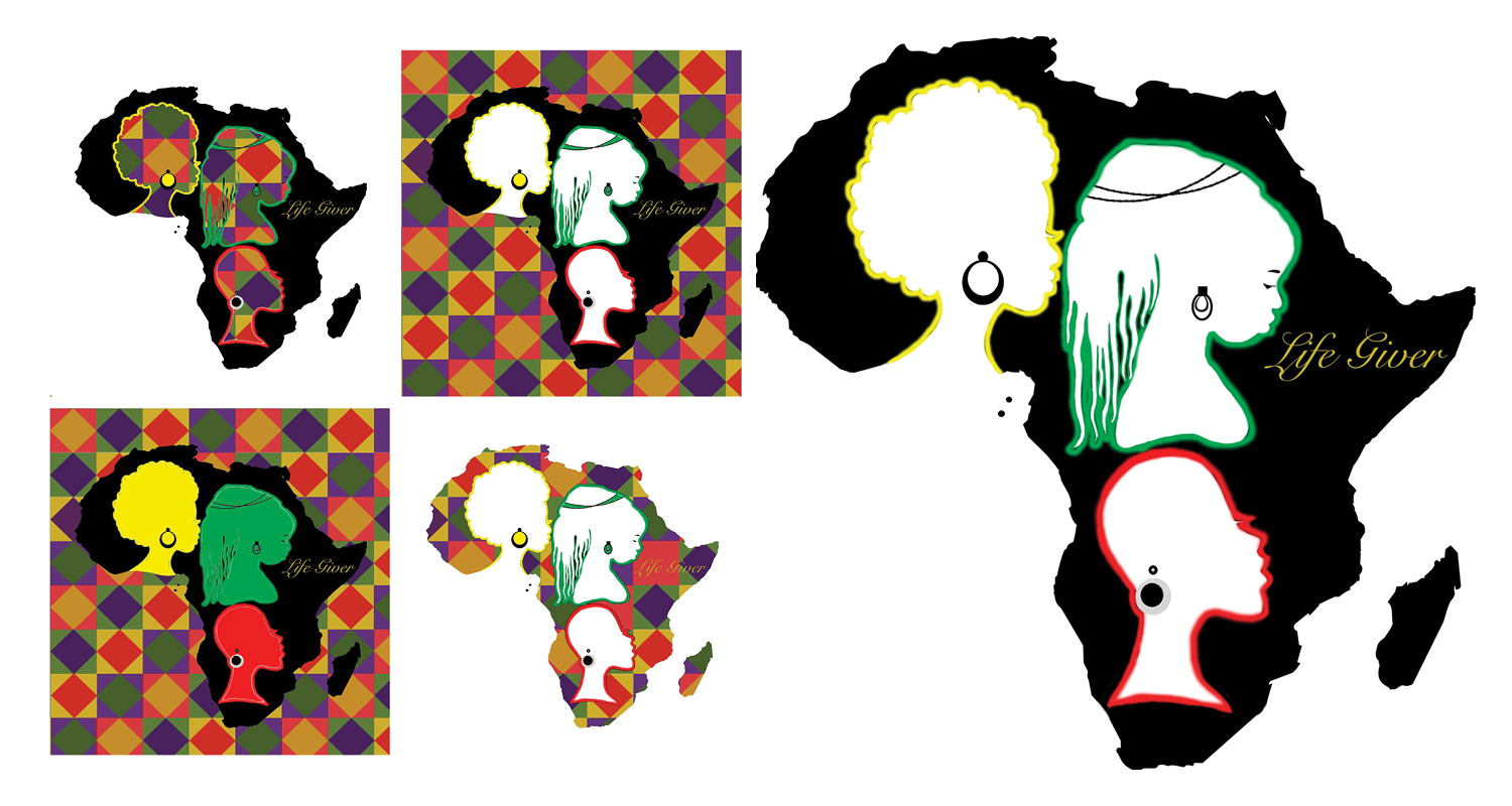 African Ladies Logo Design