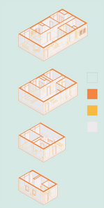 Units Axonometric