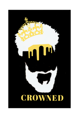 Crowned Male T-Shirt Design