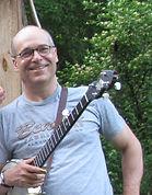 Ray Ciemny, banjo for Hickory Horned Devils