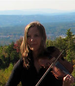 Britt Lundgren, fiddle for Hickory Horned Devils