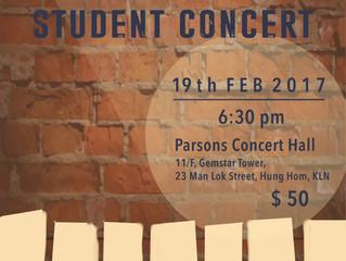 Student Concert 2017
