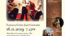 Cafe 852 Tango & Gypsy Jazz Concert
