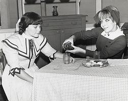 1967-Anne and Diana raspberry cordial (J
