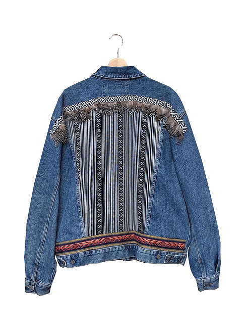 """CHARLIE"" - Embellished Denim Jacket"