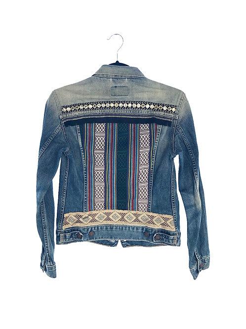 """SIA"" – Embellished Denim Jacket"