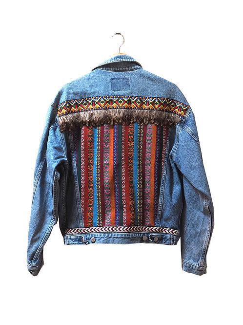 """""""ESTER"""" - Embellished Denim Jacket"""