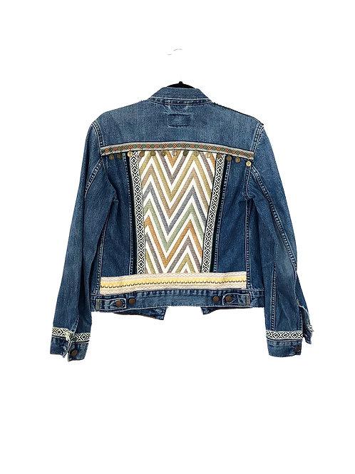 """""""CARA"""" - Embellished Denim Jacket"""