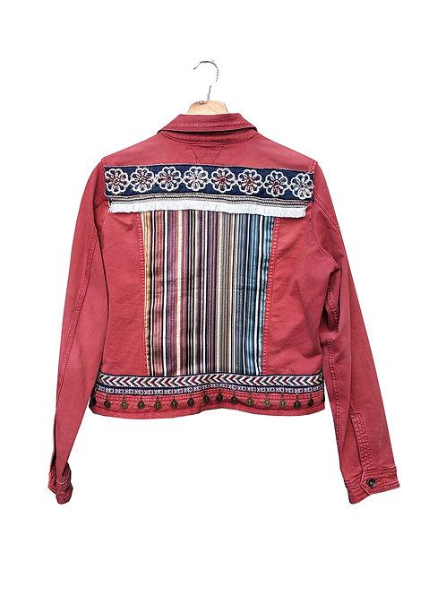 """""""ROSY"""" - Embellished Denim Jacket"""