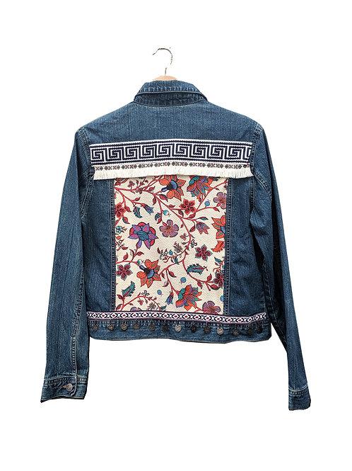 """""""FAITH"""" - Embellished Denim Jacket"""