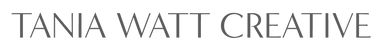 Tania Watt Creative Logo 1-line_gray.png
