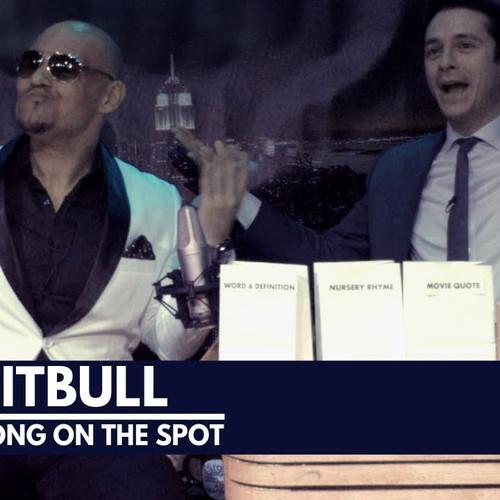 NYC Pitbull Impression Comedy