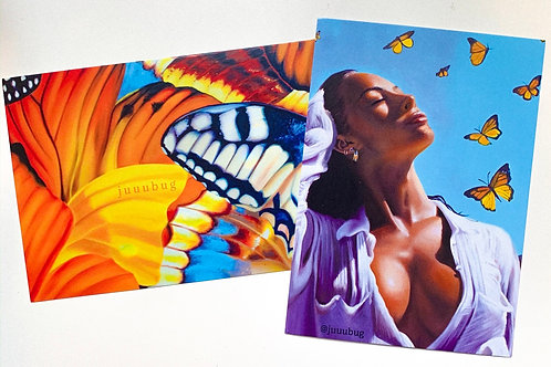 Monarch Postcard Print Pack