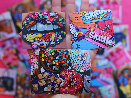 Sweet Tooth Sticker Pack