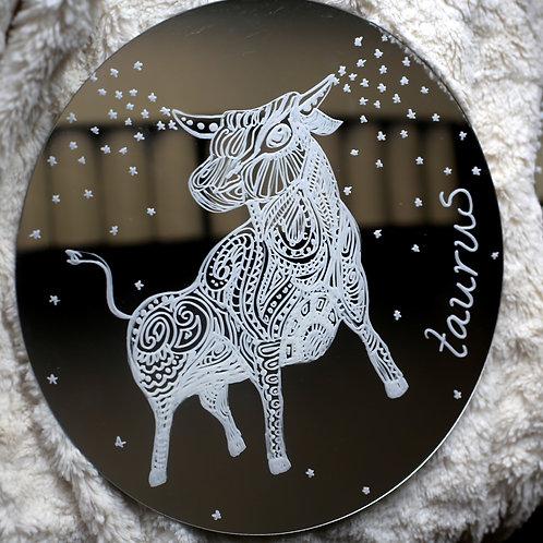 Taurus Zodiac Mirror