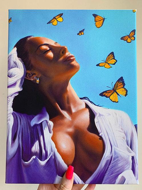 Monarch 9x12 Canvas Wrap Print