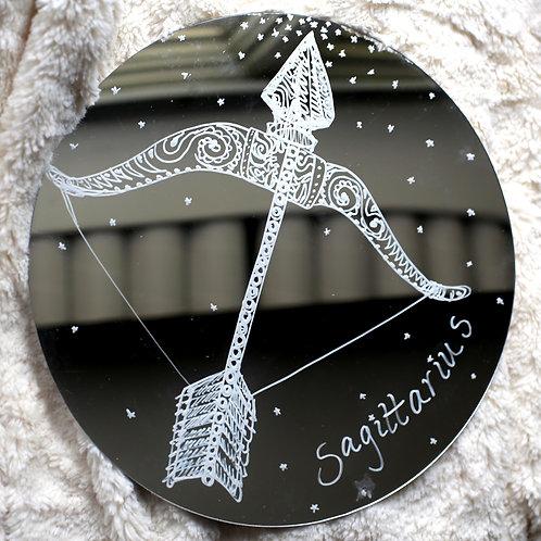 Sagittarius Zodiac Mirror