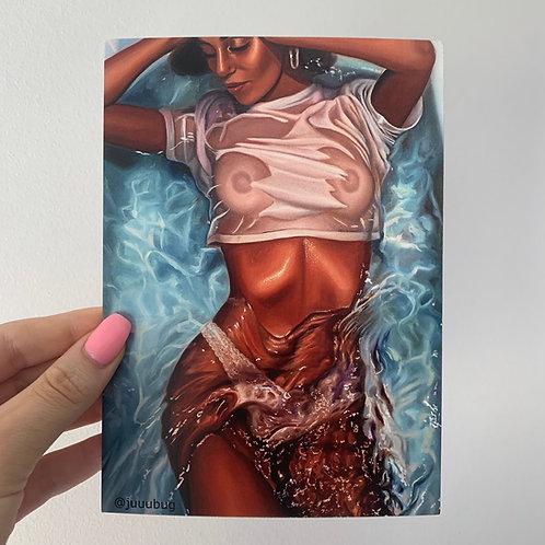 Water I Postcard Print