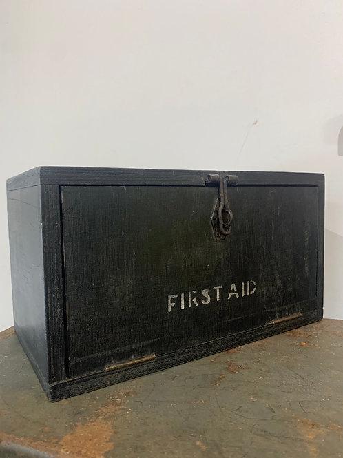 Vintage first aid box