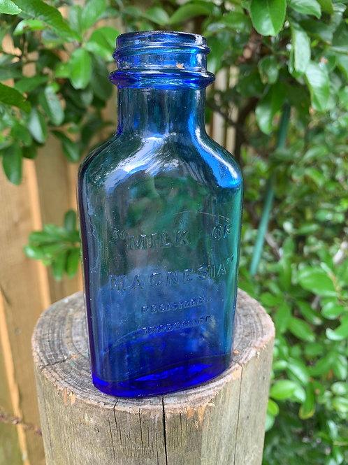Original 70's Milk of Magnesia stem bottle