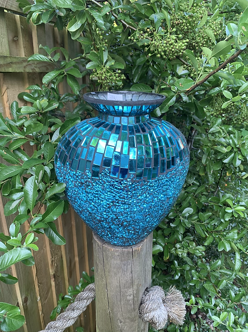Moziac disco vase!