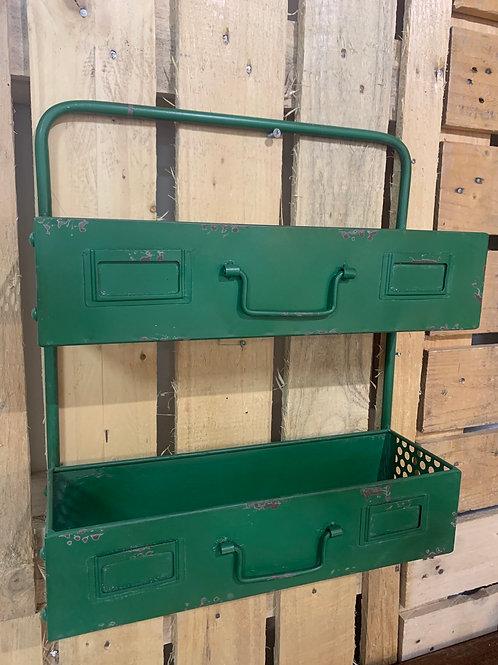 Industrial shelf rack