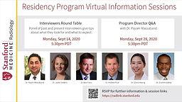 Residency Program Virtual Information Sessions