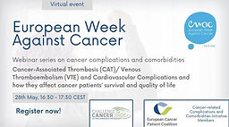 Cancer-Associated Thrombosis (CAT)/ Venous Thromboembolism (VTE) and Cardiovascular Complications and how they affect cancer patients' survival and quality of life
