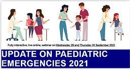 UPDATE ON PAEDIATRIC EMERGENCIES 2021