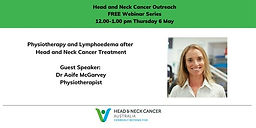 Physiotherapy and Lymphoedema after Head and Neck Cancer Treatment
