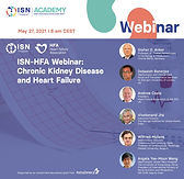 ISN-HFA WEBINAR: CHRONIC KIDNEY DISEASE AND HEART FAILURE