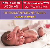 Hiperamoniemia Neonatal: pasos a seguir.