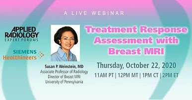 Treatment Response Assessment with Breast MRI
