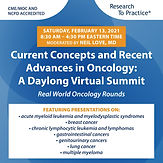 Current Concepts and Recent Advances in Oncology: A Daylong Virtual Summit