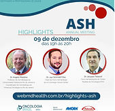 HIGHLIGHTS ASH ANNUAL MEETING
