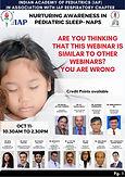 Nurturing Awareness in Pediatric Sleep- NAPS