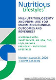Malnutrition, Obesity and PDPM: Are You Maximizing Clinical Outcomes and Revenues?
