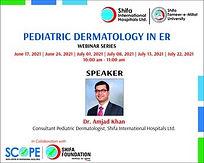Pediatric Dermatology in ER - Webinar Series