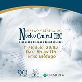 Sessão Clínica do Núcleo Central CBC - 1º Módulo Esôfago