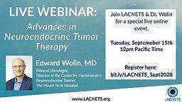 Advances in Neuroendocrine Tumor Therapy