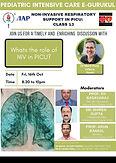 Non-Invasive Respiratory Support in Picu: Class 13