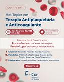 Hot Topics em Terapia Antiplaquetária e Anticoagulante