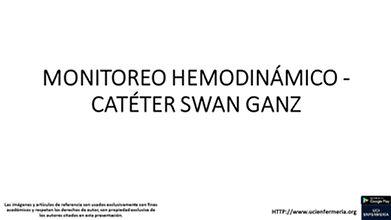 CATETER DE SWAN GANZ CUIDADOS DE ENFERMERIA