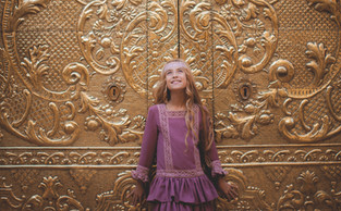 Nayade Carretero, la preciosa pequeña de cabello dorado