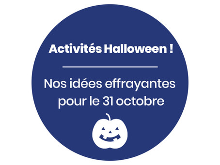 3 choses à faire à la maison pour Hallowe'en